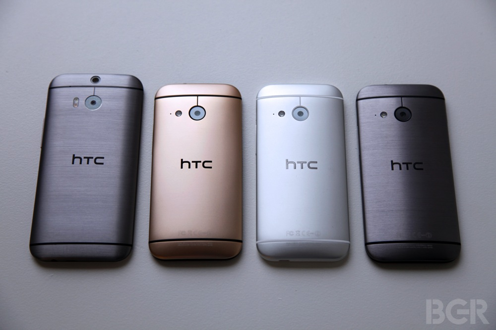 HTC One mini 2 заняя панель