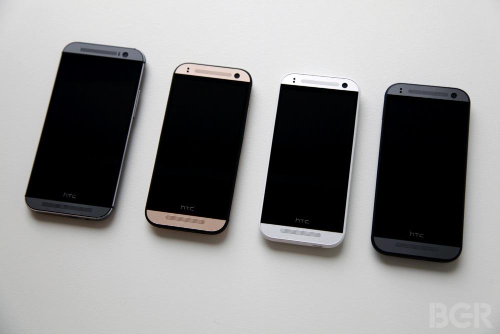 HTC One mini 2 передняя панель