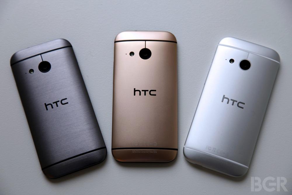 HTC One mini 2 варианты расцветок