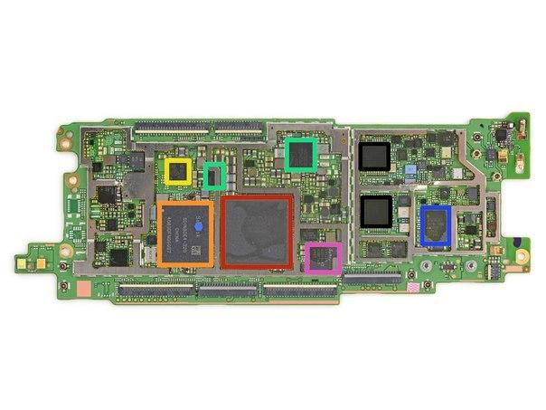 печатная плата HTC one (m8)