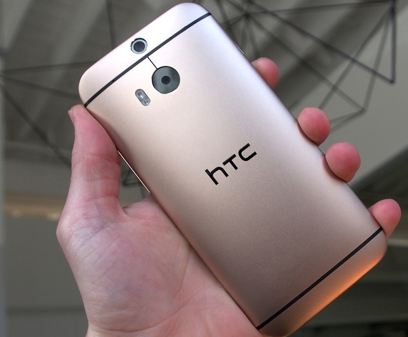 HTC one m8 GOLD задняя панель
